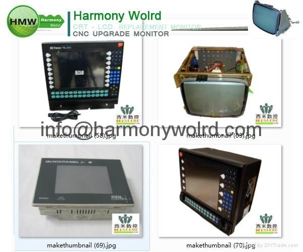 Upgrade 1C600KD512 Fanuc Monitors A02B-0091-C052 A02B-0094-C047 A02B-0098-C131  7