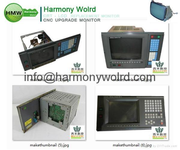 Upgrade 1C600KD512 Fanuc Monitors A02B-0091-C052 A02B-0094-C047 A02B-0098-C131  9