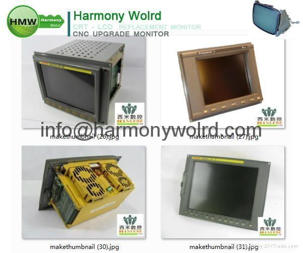 Upgrade 1C600KD512 Fanuc Monitors A02B-0091-C052 A02B-0094-C047 A02B-0098-C131  16