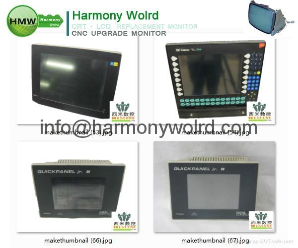 Upgrade 1C600KD512 Fanuc Monitors A02B-0091-C052 A02B-0094-C047 A02B-0098-C131  17