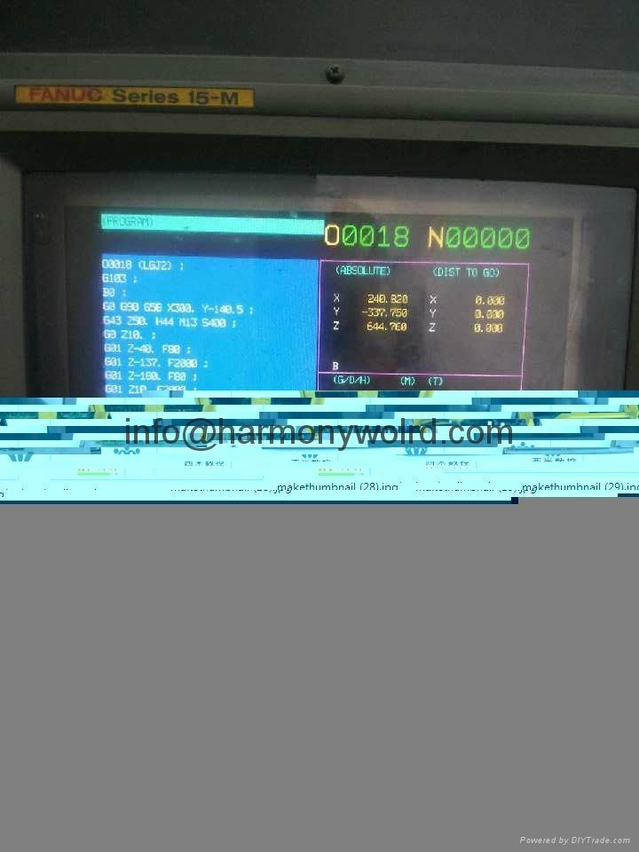 Upgrade 1C600KD512 Fanuc Monitors A02B-0091-C052 A02B-0094-C047 A02B-0098-C131  18