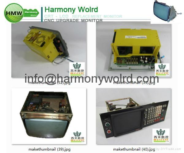 Upgrade A02B-0120-C071/MA Fanuc Monitors A02B-0163-C322 A02B-0163-C341  11