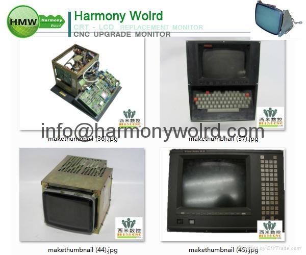 Upgrade A02B-0120-C071/MA Fanuc Monitors A02B-0163-C322 A02B-0163-C341  15