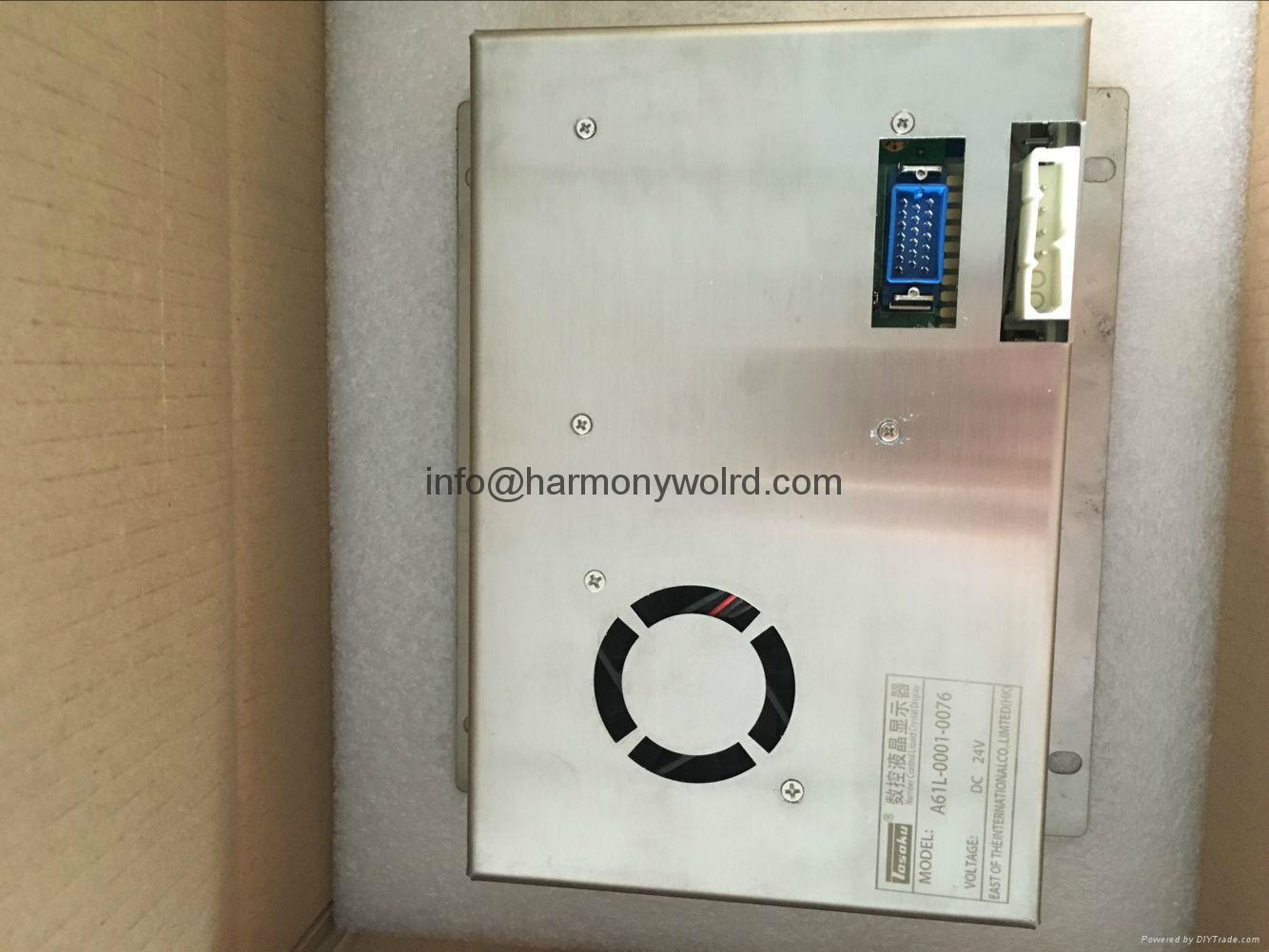 A61L-0001-0168 FanucMonitor CW550DT.1000-10 IC752WFB254CRS IC752WFC502-FC 16