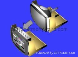 Upgrade Matsushita TX-1450AE TX1450AE TX-1450AE A61L-0001-0074 14inch CRT To LCD 2