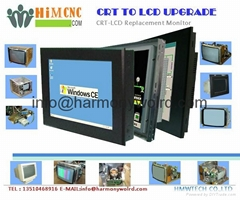 Upgrade Monitor for Tree VMC500/750/800/1060 ZPS 14 CRT (C) TPC-2100 CRT To LCDs