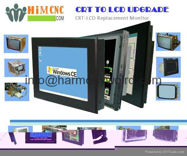 Upgrade Monitor Siemens Sinumerik SM-1200 805 (SM-1200) 12 inch CRT To LCDs   1