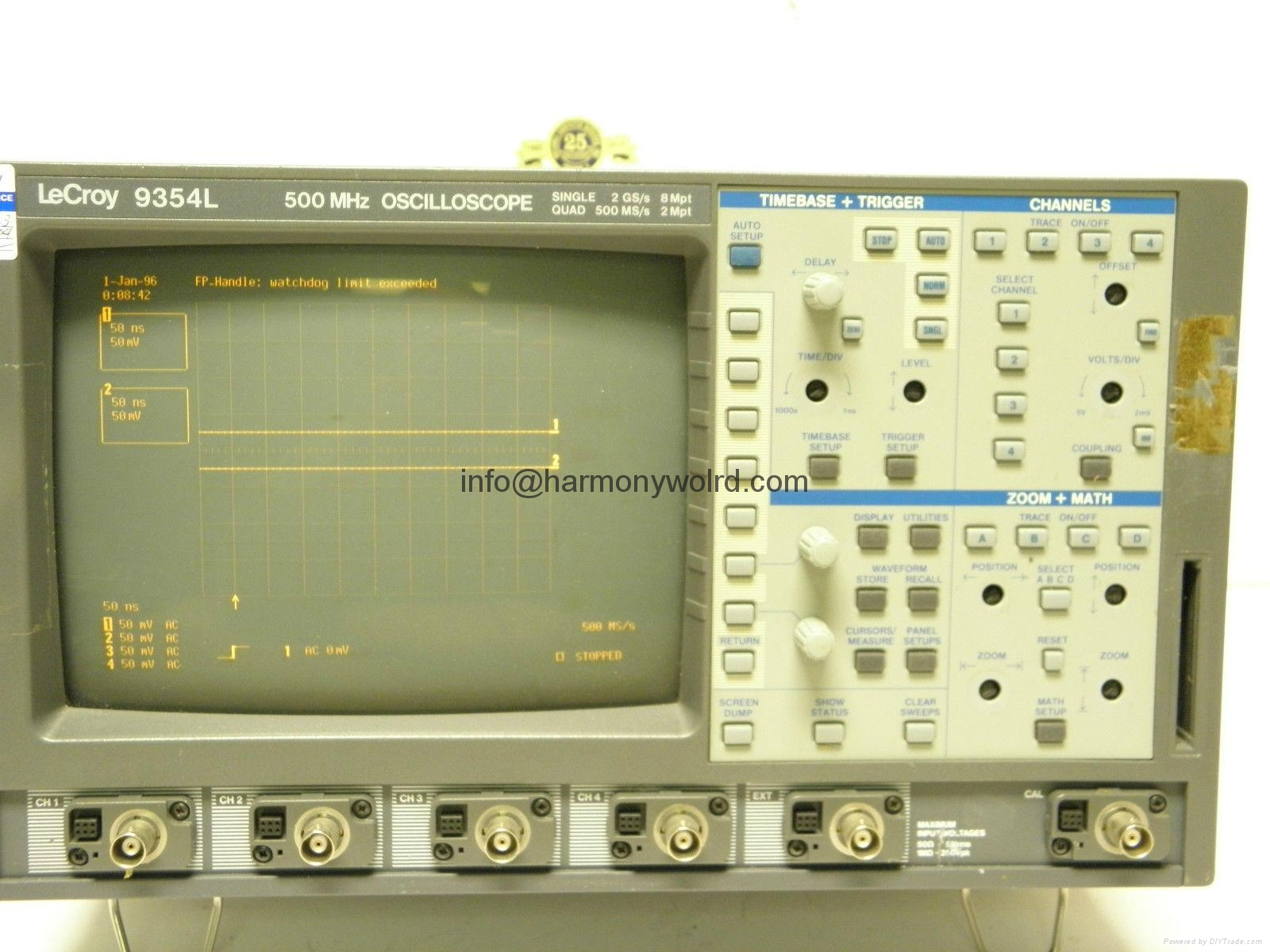 Replacement monitor for Lecroy Oscilloscope 9370M 9310A 9410 9361C 9400A 9350AM  11