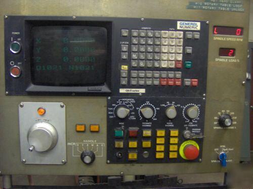 LCD monitor for Acroloc SeriesM-AD1220 M-15L Machine Fanuc / Bendix Control 8