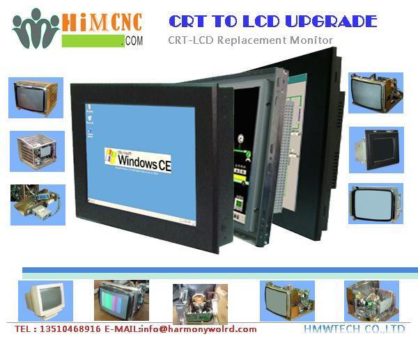 Replacement LCD monitor for ADIRA CNC Press break Hurco Autobend 7 cybelec-dnc80 1