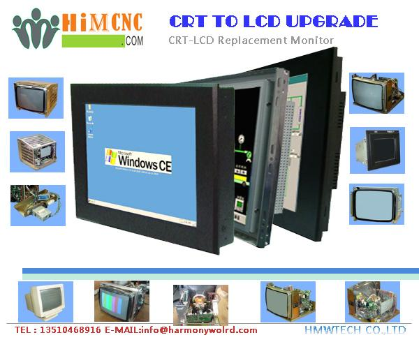 LCD monitor for Agie CNC EDM 150HSS/250HSS/350HSS Agiematic AGIECUT Agietron Mon 1