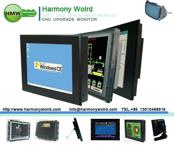 "15"" LCD monitor for AIM CNC WIRE BENDER 2D/3D Machines Spring Machines T-Welder"