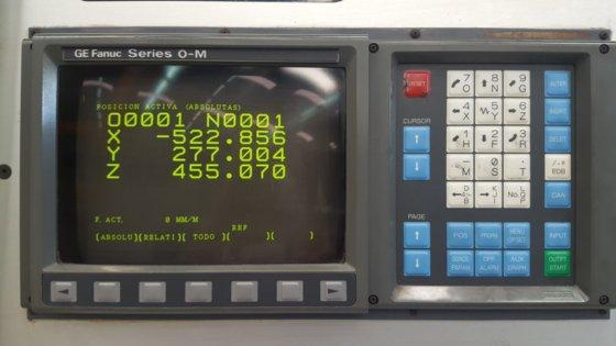 LCD Replacement Monitor for ANAYAK ANAK-MATIC CNC Machines HVM 2300/3300 VH 2200 7