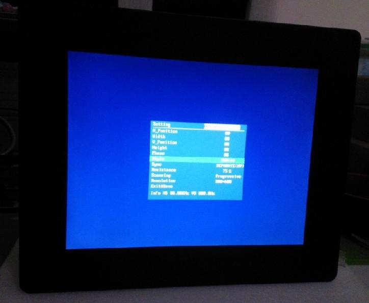LCD Monitor for Autojector Injection Molding Machine EV-30 HCR-90/130/200/250 WD 2
