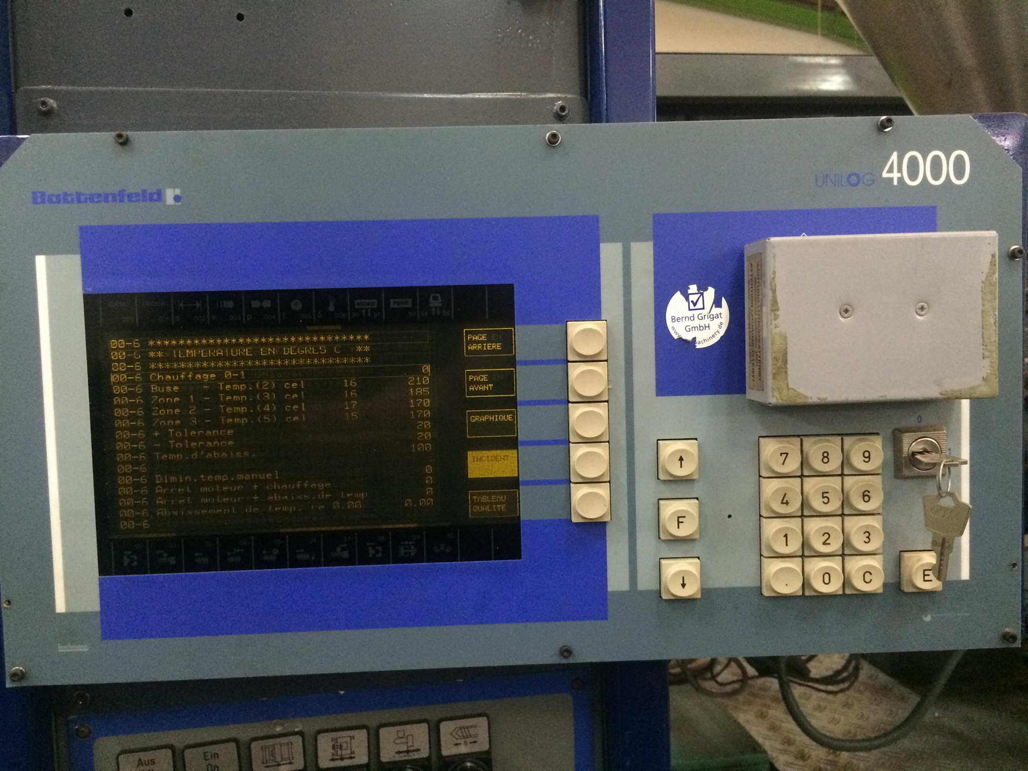 Replacement Monitor for Battenfeld Injection Moulding Machines BA 100/150/450  7