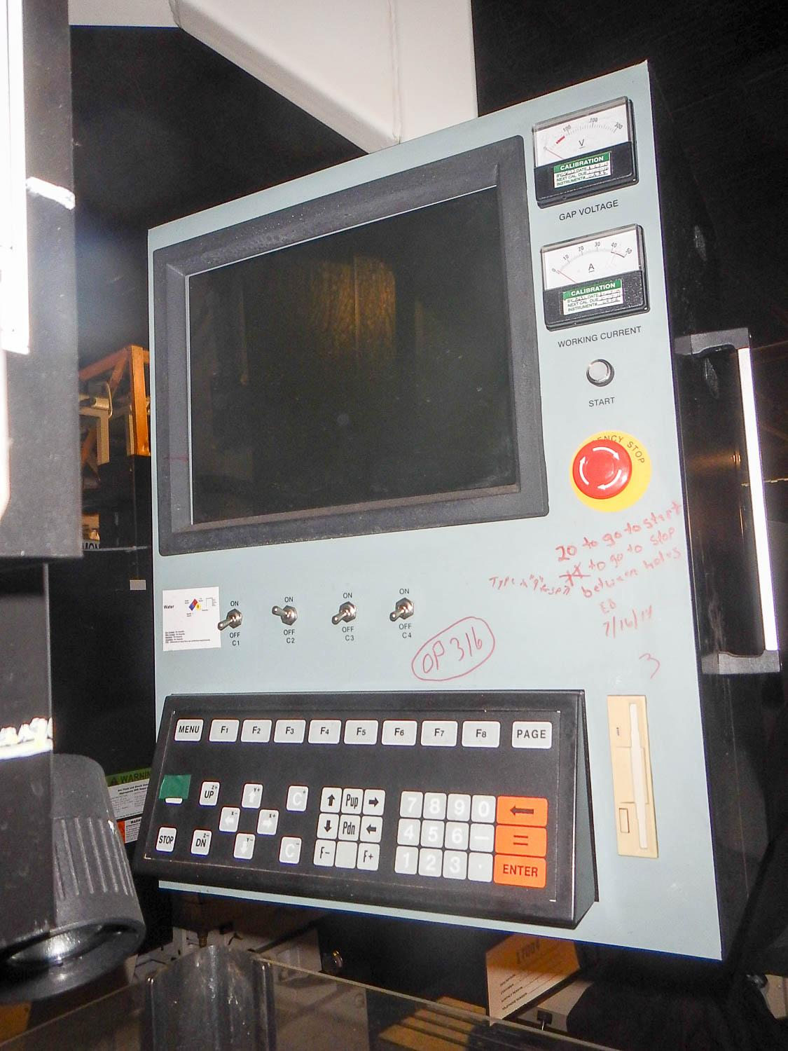 Replacement Monitor for Belmont Astec CDH-3A Maxicut CNC EDM Drill & Sinker 2