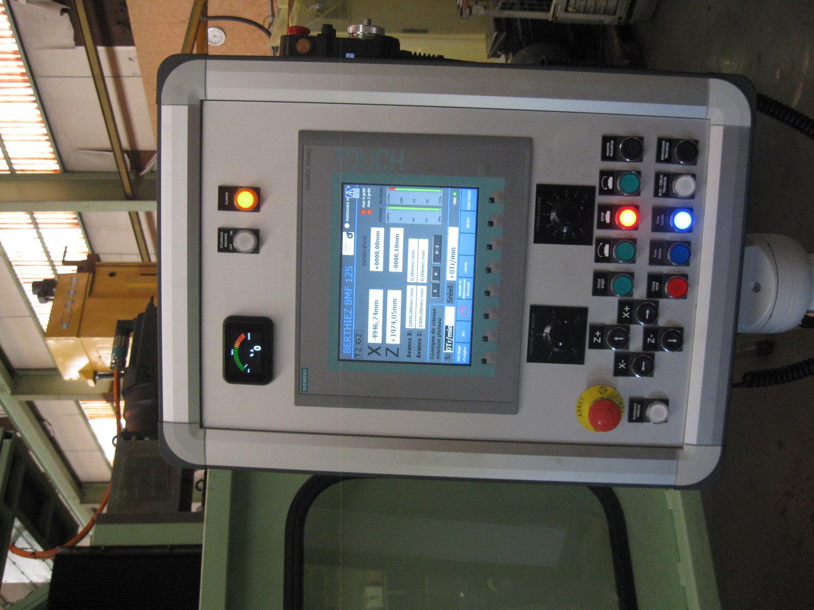 Replacement Monitor for BERTHIEZ CNC Lathes CNC borer TDM/TEM/TFM/TVM/BM/BMF/  T 18
