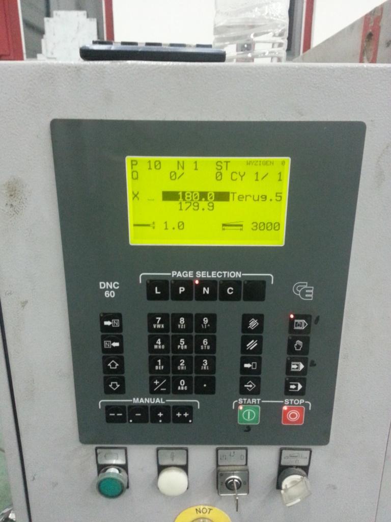 Replacement Monitor for BEYELER CNC press brake w/CNC Cybelec Control 15
