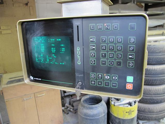 Replacement Monitor for BEYELER CNC press brake w/CNC Cybelec Control 16