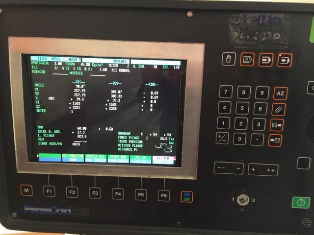 Replacement Monitor for BEYELER CNC press brake w/CNC Cybelec Control 19