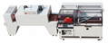Sleeve type sealing and cutting shrink packaging machine (automatic arrangement)