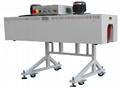 Semi-automatic heat shrinking machine