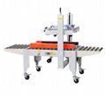 Semi-automatic I-shaped box sealing machine
