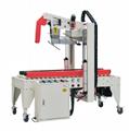 Semi-automatic corner sealing machine