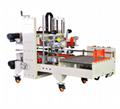 Semi-automatic folding and sealing machine