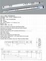 3036-01 Rotatable Full Extension Ball Bearing Slide