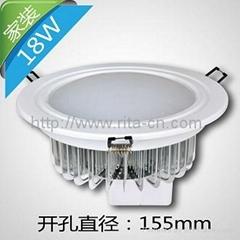 18W LED筒燈