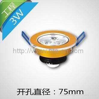 3W LED 天花燈 2