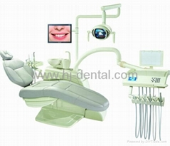 dental chair with stomatolog