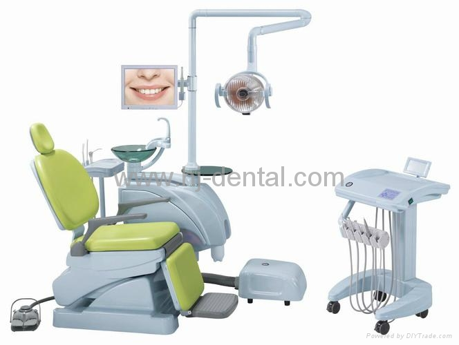 dental chair with spare parts