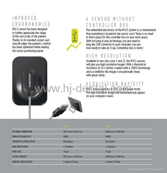 Dental X-ray Digital Sensors 2
