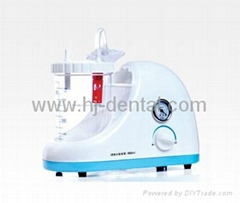 portable dental phlegm suction unit