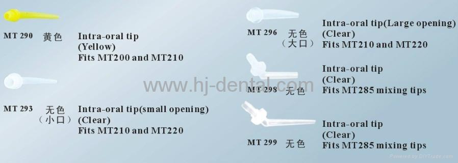 dental mixing intra oral tip