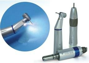 E-generator integrated LED Low Speed Handpiece (inner water spary)
