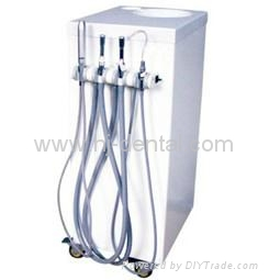 Mobile portable Dental Suction System