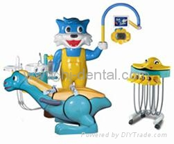 Pediatric dental unit children dental chairs 3