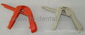 Dental cavifil injector compule capsule dispenser gun