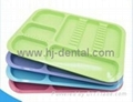 Autoclavable Dental Divided Instrument Plastic Tray 2