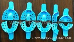 Autoclavable/disposable Plastic Impression Trays 2