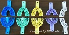 Autoclavable/disposable Plastic Impression Trays 1