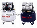Air Compressor white and blue
