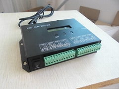 8 port DMX512,ws2811 led controller