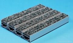铝合金地垫价格 防尘地毯厂家 除尘地垫批发 刮泥沙地毯销售