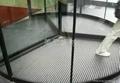 旋转门铝合金地垫 自动门防尘除