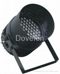 超高亮度84*3W大功率进口LED户外防雨三色染色投光舞台帕灯