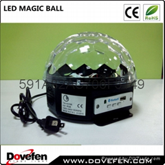 Christmas new year event LED Crystal Magic Ball light